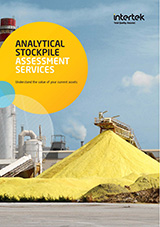 Analytical Stockpile Assessment cover