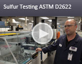 Sulfur Testing ASTM D2622 Video