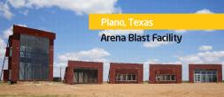 Plano, TX Arena Blast Facility