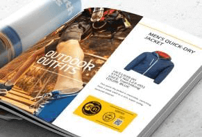 High Performance Mark for Printed Materials