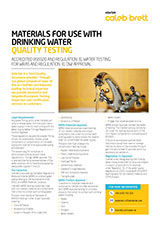 UK WRAS Drinking Water cover