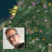 Interactive Coastal Investigations WebGIS