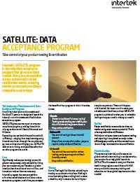 SATELLITE Data Acceptance Program