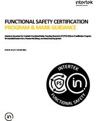 Functional Safety Certification Program