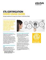 ETL Mark Usage Guide