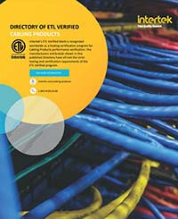 ETL Verified Cabling Products Directory