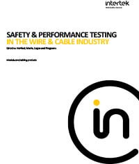 Safety & Performance Testing in the Wire & Cable Industry