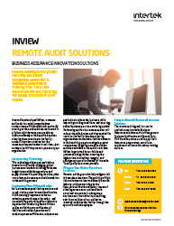 InView Virtual Auditing Solution