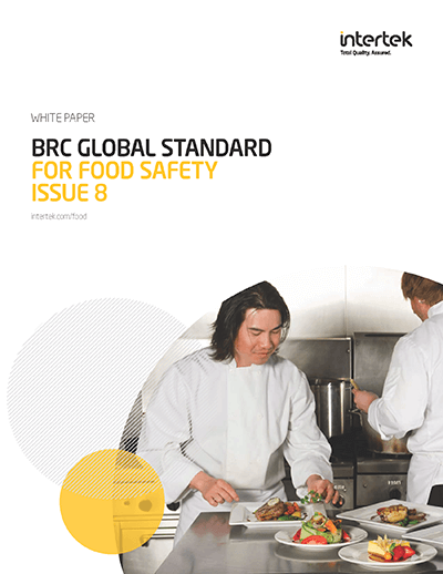 BRC Global Standard for Food Safety Issue 8